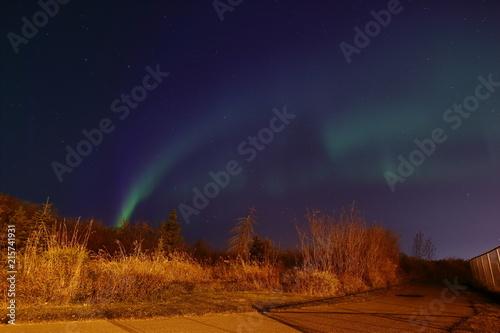 Plexiglas Noorderlicht Aurora Borealis - Northern Lights