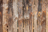 wooden boards on a fence as an abstract background - 215772177