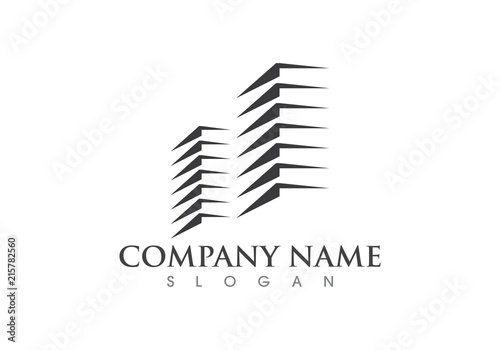 Property and Construction Logo - 215782560
