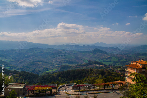 Foto Spatwand Chocoladebruin Italy, San Marino