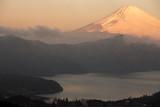 Mountain Fuji winter in morning - 215788377