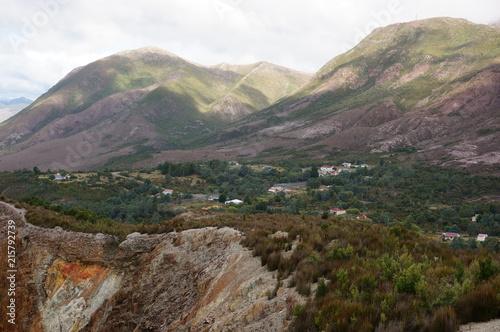 Foto Spatwand Chocoladebruin Tasmania