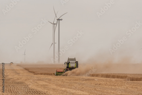 Canvas Trekker Combine agriculture harvest farming