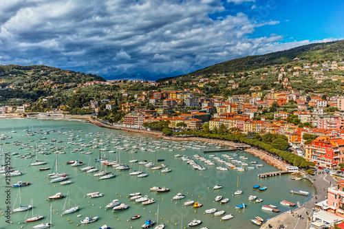 Fotobehang Liguria Lerici Golfo dei Poeti