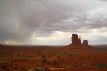 Monument Valley Rainbow