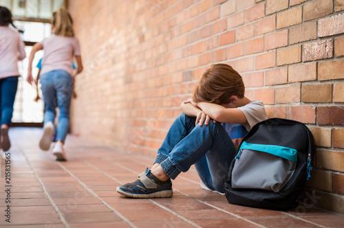 Foto Murales Bullying at school