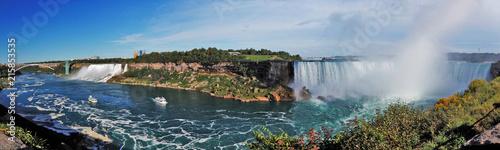 niagara falls horseshoe falls whirlpool Wasserfall - 215853535