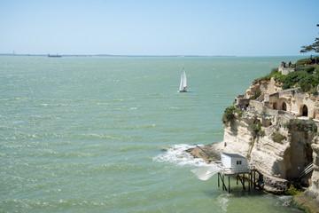 Littoral Meschers sur Gironde Charente Maritime France