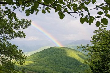 Ranbow over the mountains © Julija