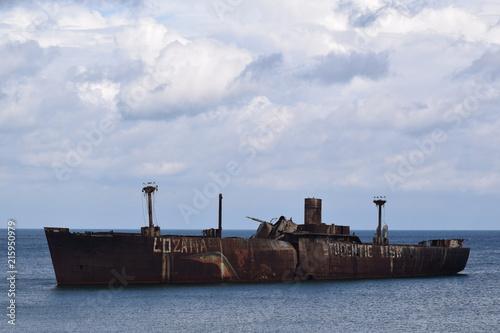 Aluminium Schipbreuk Shipwreck