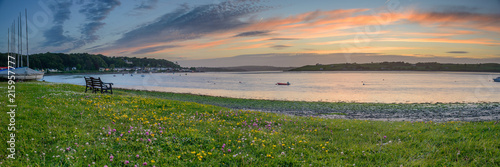 Courtmacsherry, Ireland. Panoramic shot. - 215957777