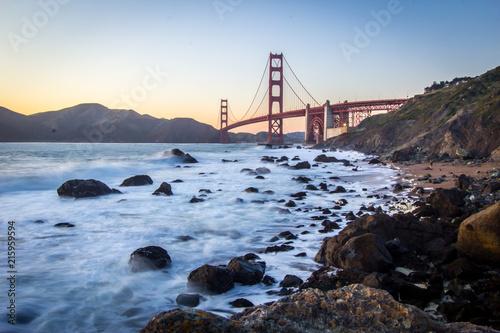 Obraz na płótnie Golden Gate in San Francisco