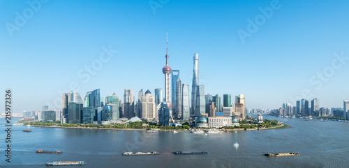 Foto Spatwand Shanghai shanghai skyline panorama