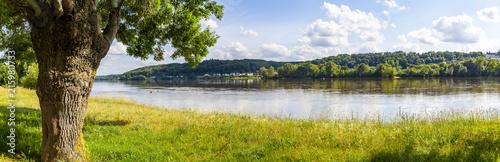 Landschaft bei Saint-Martin-de-la-Place, Pays de la Loire, Frankreich
