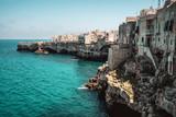 sea village cliff Polignano a Mare - Bari - Apulia - Italy