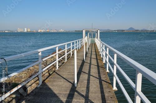 Aluminium Pier 滋賀 堅田港