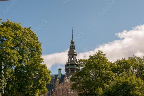 Foto Spatwand Stockholm Church in Stockholm