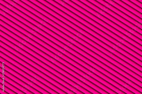 red magenta diagonal blinds stripes