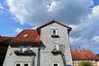 canvas print picture - Denkmalgeschützte Architektur in Bad Soden-Salmünster