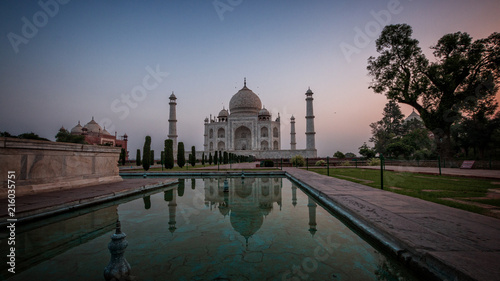 Foto Murales Taj Mahal Reflection