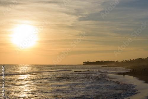 Plexiglas Bali Sunset in Bali, Indonesia.