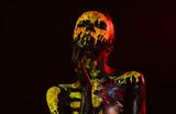 Halloween day of dead celebration - 216041997