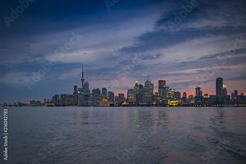 Canvas Toronto Toronto Sunset