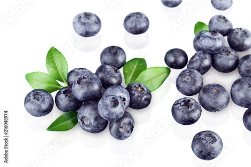 Leinwandbild Motiv Blueberry.