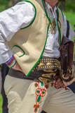 Detail of Slovakian folk costume for man - 216052189