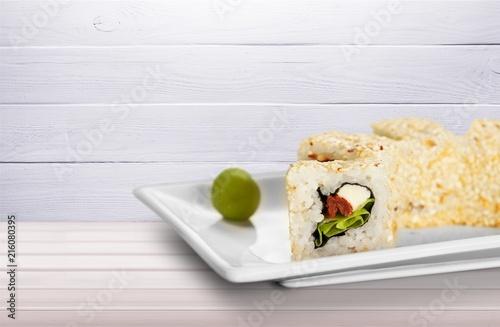 Foto Spatwand Sushi bar Sushi.