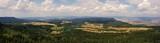 Fototapeta Do pokoju - Panorama z górskiego szczytu, Szczelińca Wielkiego w górach Stołowych - wycieczka po Dolinie Kłodzkiej © Konrad_elx