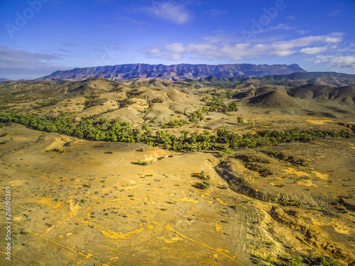 Flinders Ranges - the largest mountain range in South Australia