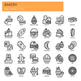 Bakery , Thin Line and Pixel Perfect Icons