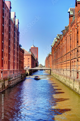 Foto Spatwand Brugge Hamburg, Germany