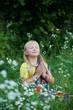 Quadro A little girl in a colorful Sari