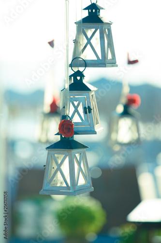antique street lanterns
