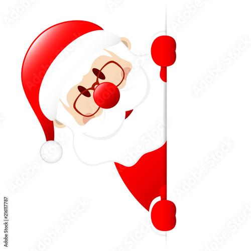 Santa Banner Left