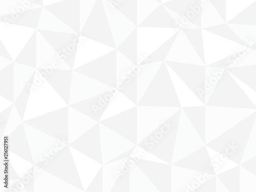 ポリゴン 白