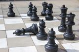 Schach: Schwarze Figuren
