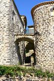 village d'Aubignas en Ardèche