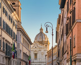 Eclectic Style Buildings, Rome, Italy