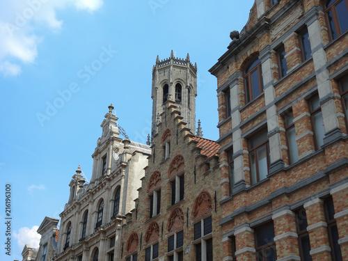 Foto Spatwand Brugge architecture bruges belgique