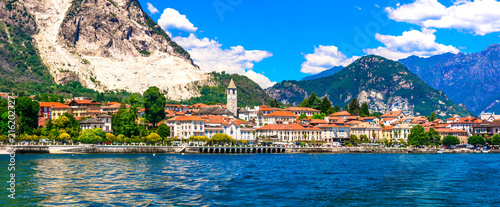 Fotobehang Freesurf Beautiful Baveno - famous tourist center and resort in Lago Maggiore. North of Italy