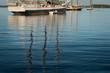 Wooden Boats Reflections Horizontal
