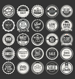 Retro vintage badges and labels vector collection  - 216208323
