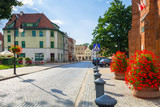Summer on the old town of Paslek in Poland - 216208922