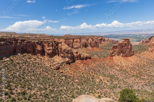 Foto Spatwand Zalm Scenic Colorado National Monument Landscape
