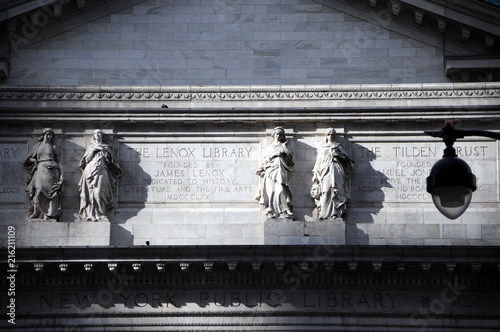 Foto Murales New York Public Library Manhattan