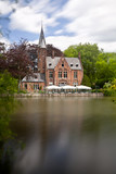 Minnewater House In Bruges, Belgium - 216241981