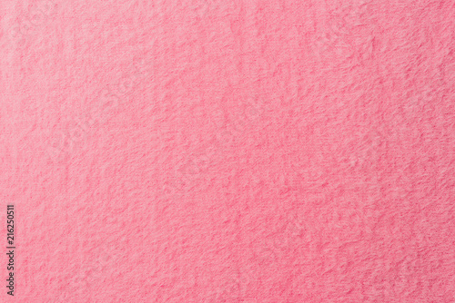 Obraz na płótnie elevated view of pink soft textile as background